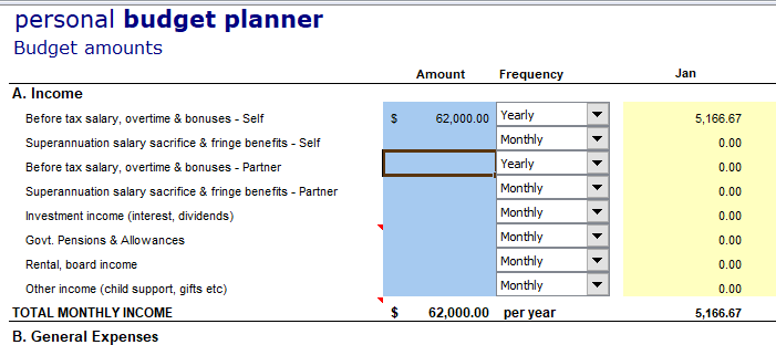 Personal Budgeting Part1 – How to create a budget and track your spending